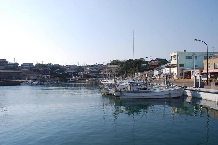 小値賀島のメインストリート