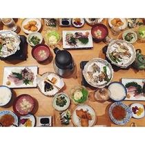 島宿御縁のお食事