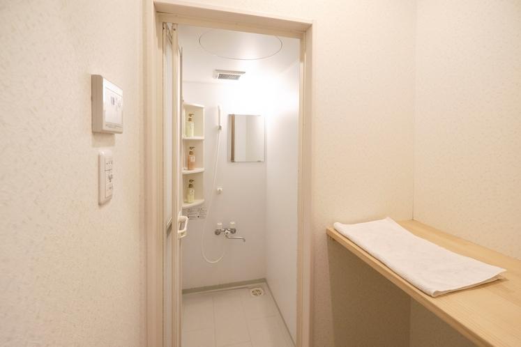 ゲストハウスシャワー室