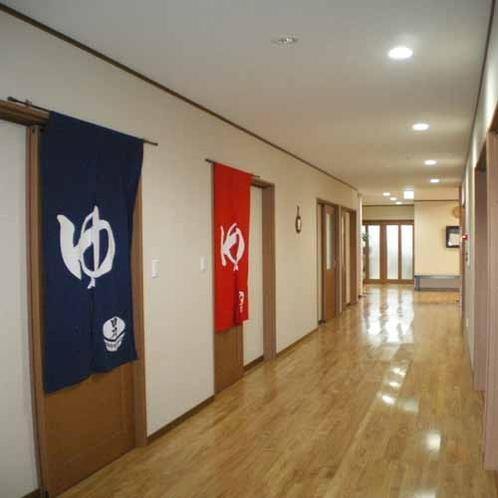 広い廊下は、災害や緊急時に安全に避難や移動ができます。
