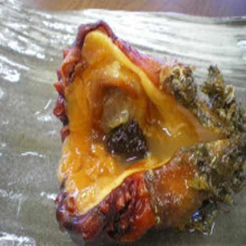 三陸では定番の「ほや」。独特の風味が、日本酒とよく合う海の幸です。
