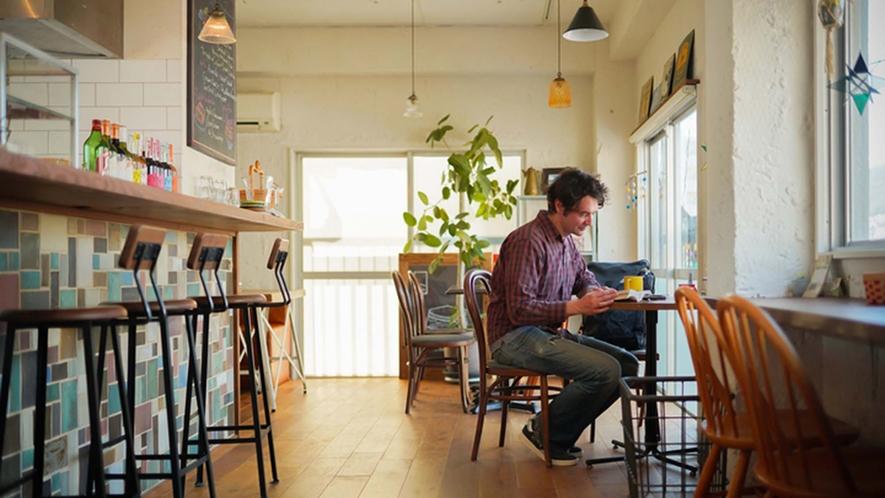 ・【カフェ】旅の計画を立てながらゆっくりとコーヒータイムはいかがでしょうか