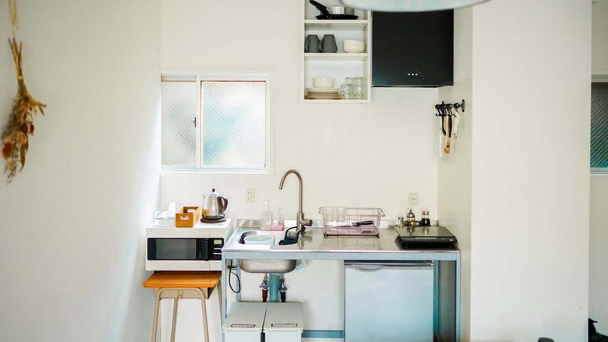 ・【Family Room】キッチンも完備しています