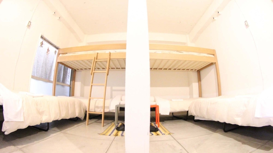 ・【Family Room】小さな別荘のようなフロア貸切のお部屋です