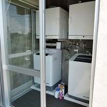 *【施設設備】洗濯機・乾燥機ともに無料でご利用いただけます。洗剤ももちろんあります!