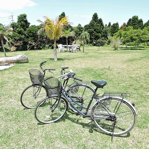 *【施設設備】無料のレンタサイクルで宮古島を散策しよう!