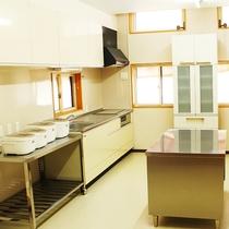 *【施設/簡易炊事場】調理器具、食器類は無料貸出しています。