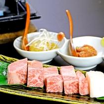 【華会席】特選信州牛サーロインステーキ 3種のソースを添えて