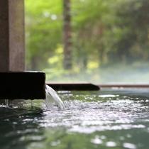 ■【女性風呂■真秀の湯】蕩々と流れ込みたっぷりのお湯がうれしい