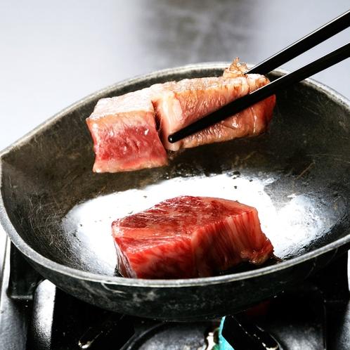 【華会席■特別会席】特選信州牛のサーロインステーキお好きな焼き加減でどうぞ