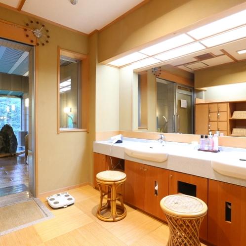 ■【大浴場洗面】