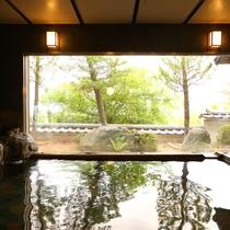 ■【外湯■天竺の湯】当館で一番広いお風呂です。※展望風呂は、1月中旬~3月20日まで営業しておりませ