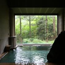 ■【女性風呂■真秀の湯】景色が美しい。早朝の入浴もおすすめです