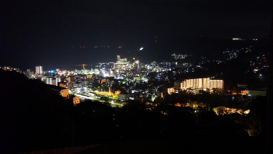 当館からの眺め(夜間)