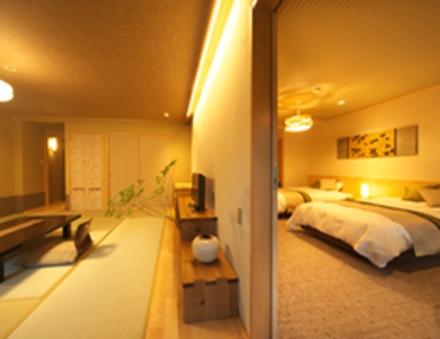 【ナラのフロア】人気のコネクティングルーム201号和洋室禁煙