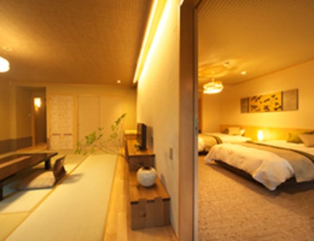 201号室 コネクティングルーム 和洋室