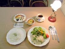 夕食(ワンプレートディナー)