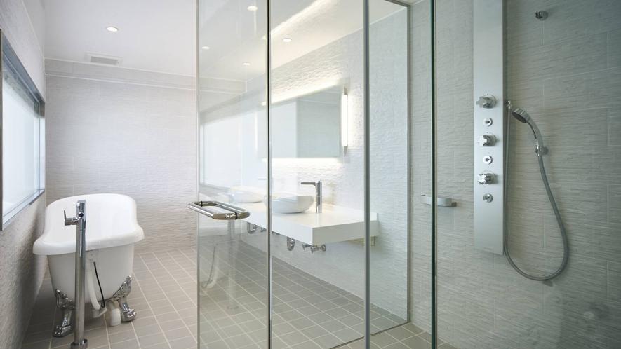 デラックスホワイトルーム バスルーム