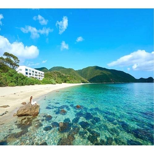 奄美大島最南端、国定公園内に位置するホテル