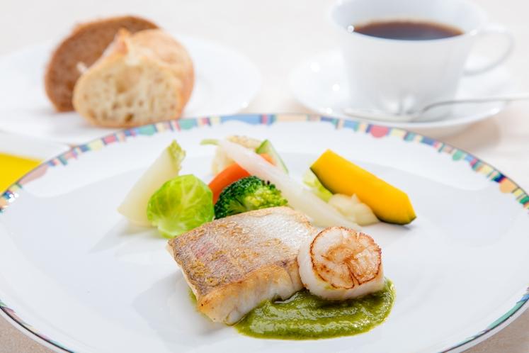 白身魚とホタテのソテー_イメージ