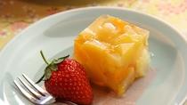 ■【お食事】~四季と移ろう逸品~季節のフルーツを使った自家製スイーツ