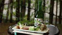 ■【こだわりの銘酒】 茨城の地酒「久慈の山」とともに四季折々の逸品をお楽しみください。