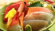 ■【お食事】~四季と移ろう逸品~新鮮な旬のお刺身と名物のこんにゃくのお刺身