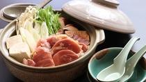 ■【お食事】~四季と移ろう逸品~冬には奥久慈しゃもの旨味が染み渡る鍋を。