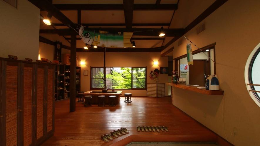 ■【館内・ロビー】知らないのに、知っているきがする。日本家屋の魅力です。