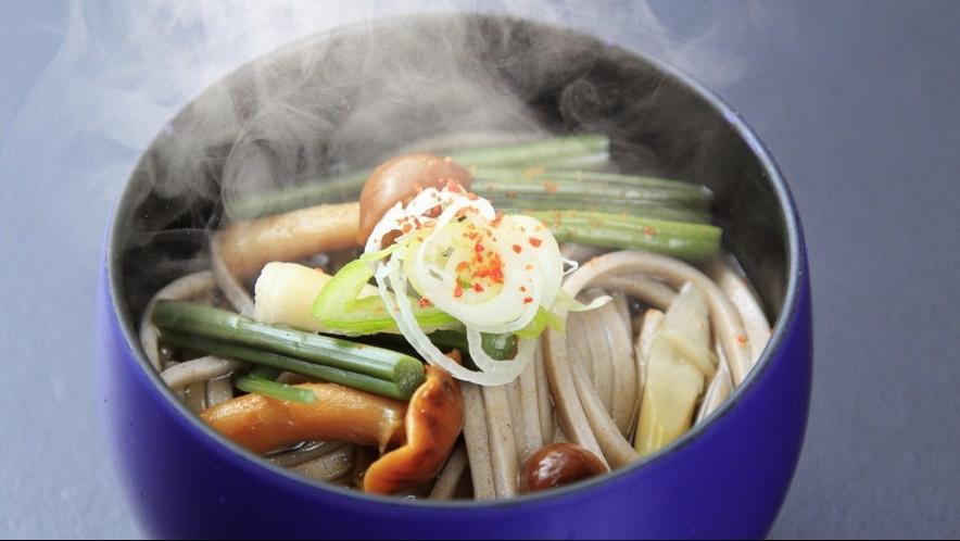 ◆お料理~山菜そば※イメージ