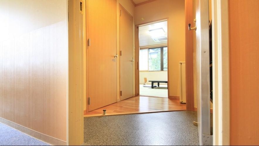 ◆客室の一例/段差を抑えたお部屋もございます。