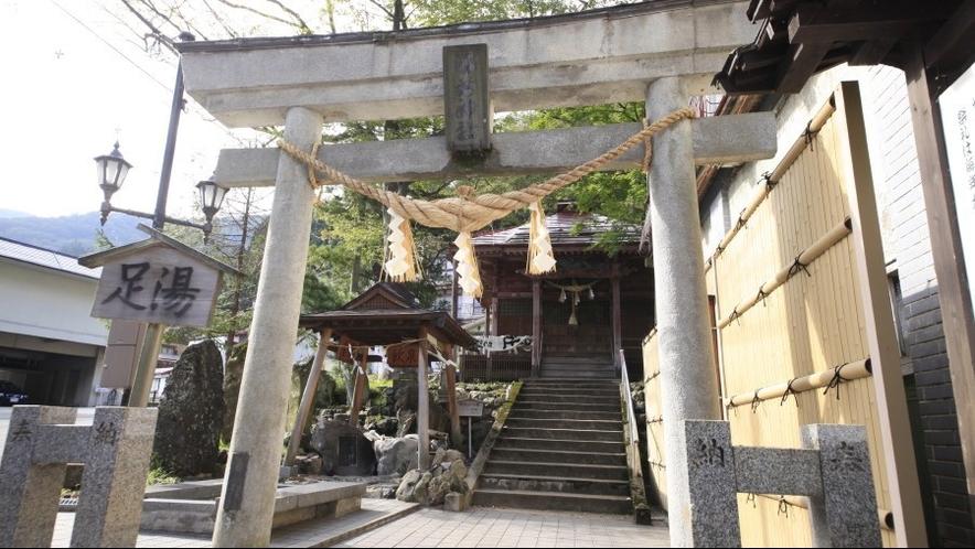◆湯前神社/当館より徒歩3分