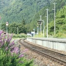 ◆瀬見温泉駅