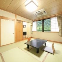 ◆客室の一例/全9室、お部屋はすべて純和室となっております。