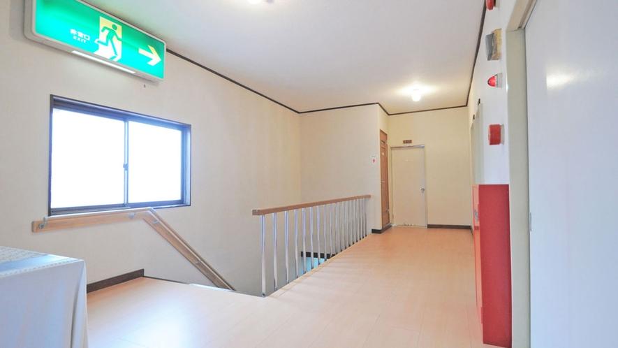 【本館一例】本館は3階までございます。