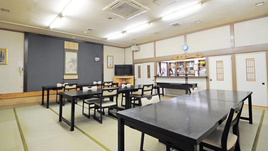 【お食事会場】広間にてご用意させていただきます。