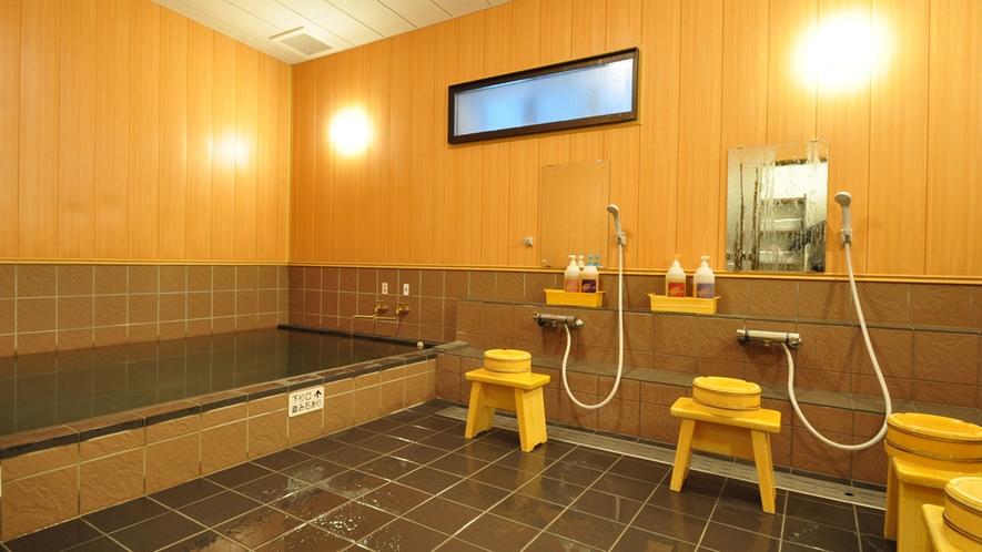 【大浴場】遠赤外線健康風呂(男湯)芯まで温まります。