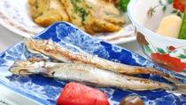 【食事】朝食の一例。からだにやさしい和朝食でほっとする朝を。