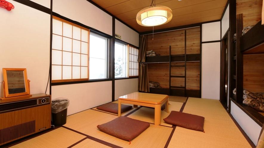 【和洋室】和室+2段ベッド(はくばやり)