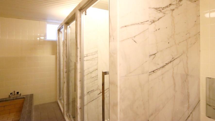 シャワーブース新設!個室で安心♪(男湯)