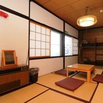 【本館】和洋室「はくばやり」2階(和室+2段ベッド)