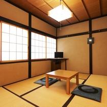 【本館】和室6畳「はくば」2階