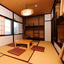 2階の和洋室タイプ(和室+2段ベッド)