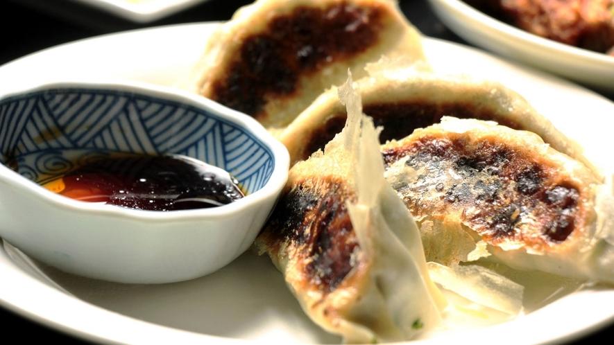 日替わり料理中華。餃子