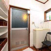 【シェアハウス】脱衣所・洗面所