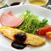 朝食洋食_オムレツ_イメージ