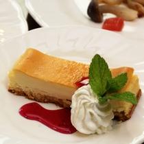 【夕食】デザート一例。