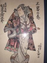 江戸浮世絵ギャラリー初代 坂東三津五郎展を当館にて開催中