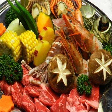 (^^♪ワイワイ海賊王(^^♪夕食は庭園でバーベキュー!!(^^♪,