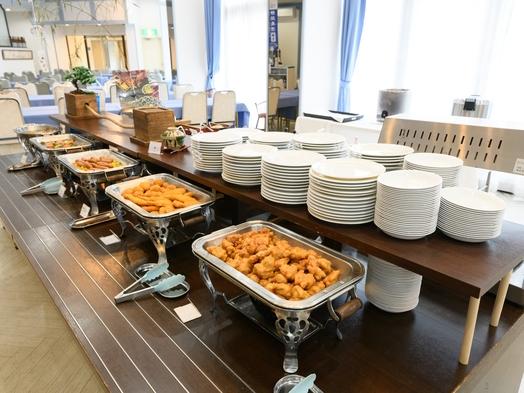 ◎スタンダードプラン◎地元食材での朝食バイキング又は特製和食膳となります。